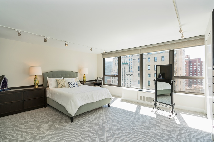 Real Estate Photography - 1313 N. Ritchie Court, Unit 1604, Chicago, IL, 60610 - Master Bedroom