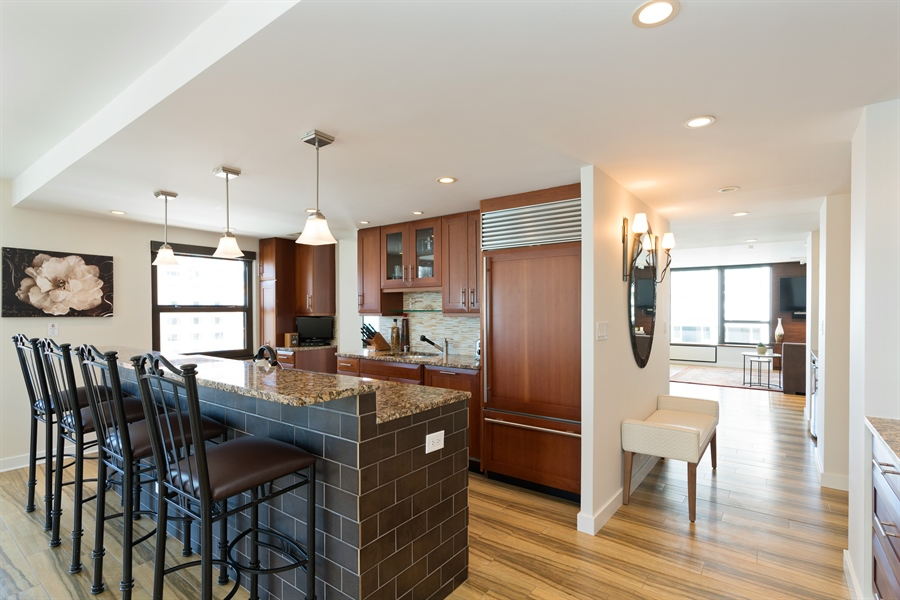 Real Estate Photography - 1313 N. Ritchie Court, Unit 1604, Chicago, IL, 60610 - Kitchen