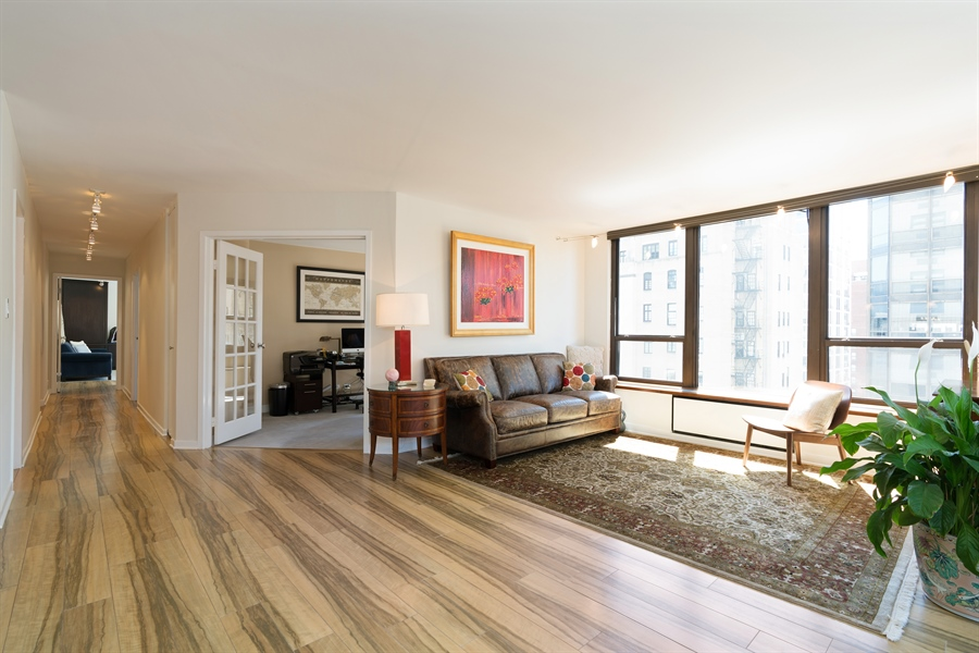 Real Estate Photography - 1313 N. Ritchie Court, Unit 1604, Chicago, IL, 60610 - Family Room