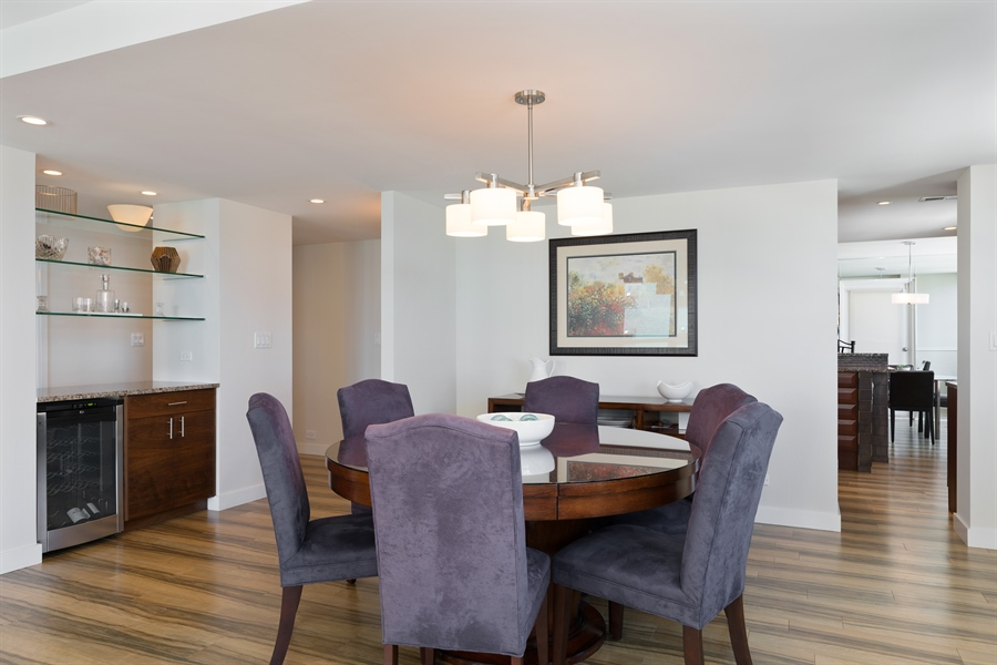 Real Estate Photography - 1313 N. Ritchie Court, Unit 1604, Chicago, IL, 60610 - Dining Room
