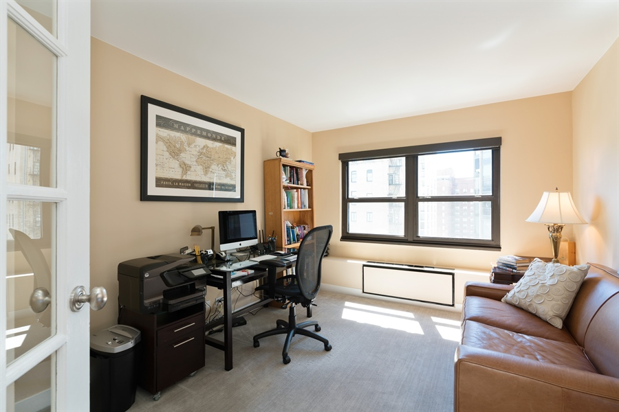 Real Estate Photography - 1313 N. Ritchie Court, Unit 1604, Chicago, IL, 60610 - Office