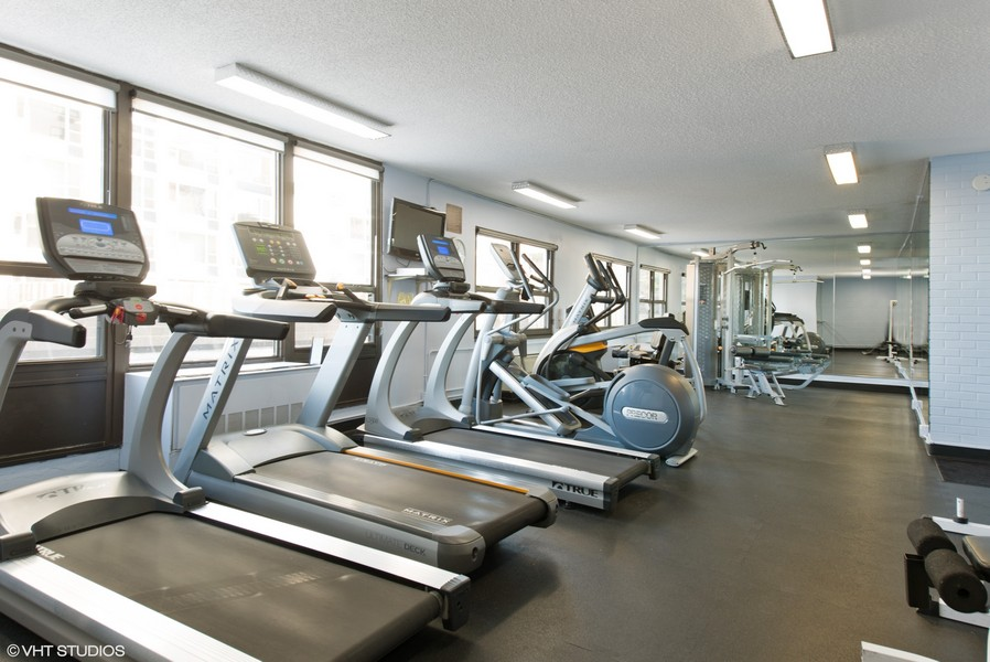 Real Estate Photography - 1313 N. Ritchie Court, Unit 1604, Chicago, IL, 60610 - Exercise Room