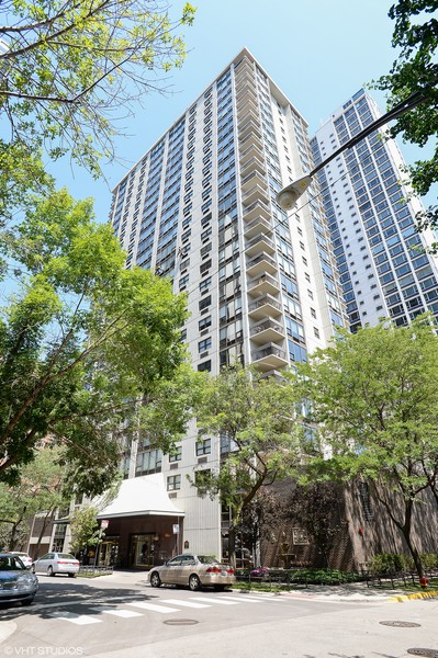Real Estate Photography - 1313 N. Ritchie Court, Unit 1604, Chicago, IL, 60610 - Front View