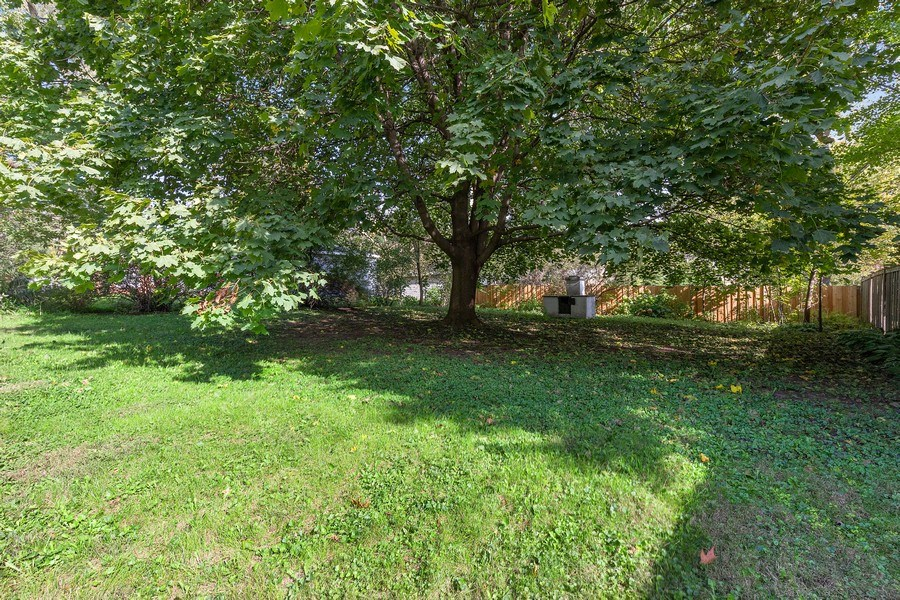 Real Estate Photography - 604 Ardmore Terrace, Libertyville, IL, 60048 - Back Yard