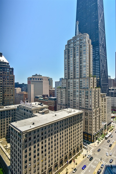 Real Estate Photography - 1000 N. Lake Shore Plaza, Unit 24C, Chicago, IL, 60611 - View