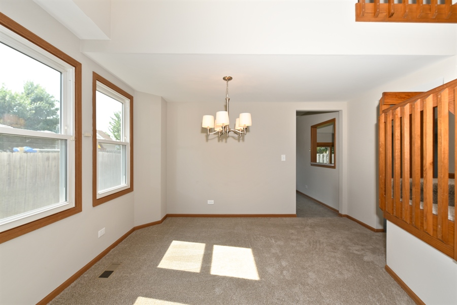Real Estate Photography - 41 FILLMORE Lane, Streamwood, IL, 60107 - Dining Room