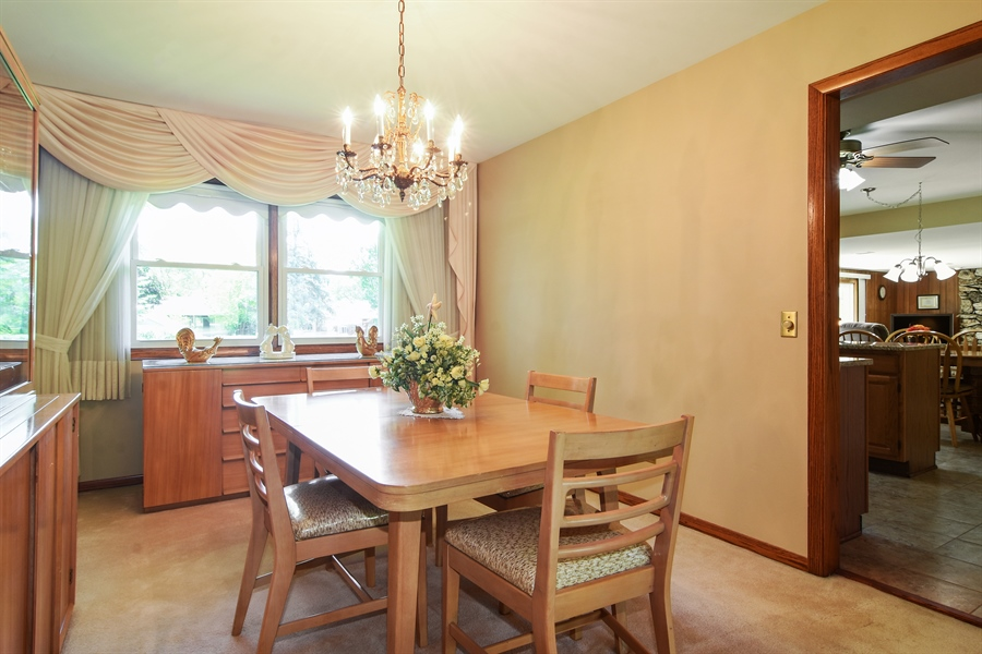 Real Estate Photography - 1813 N. Andoa Lane, Mount Prospect, IL, 60056 - Dining Room
