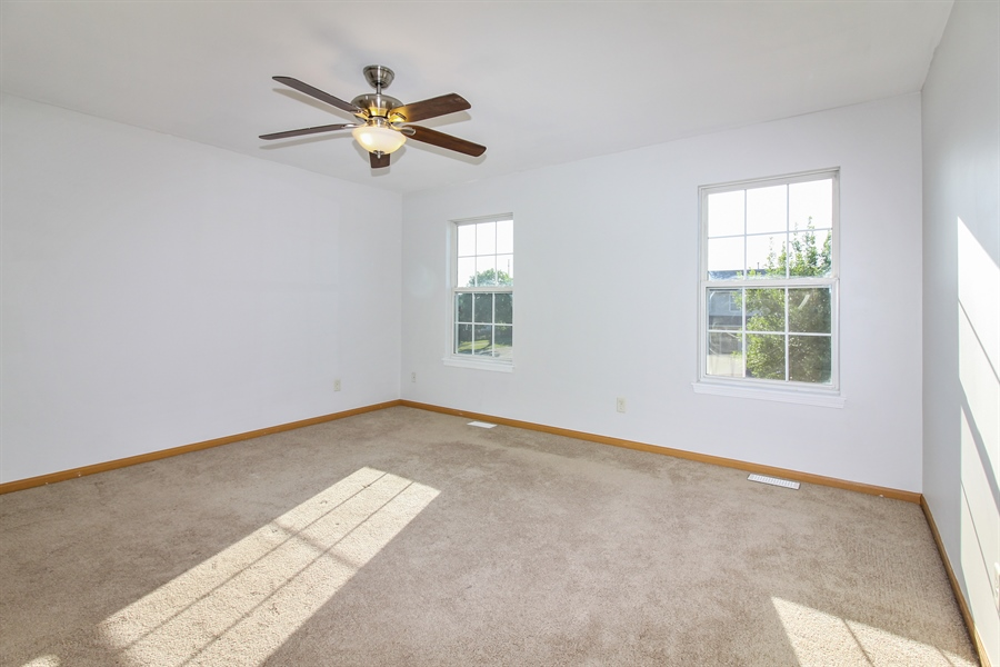 Real Estate Photography - 1755 Raleigh Trail, Unit 1755, Romeoville, IL, 60446 - Master Bedroom
