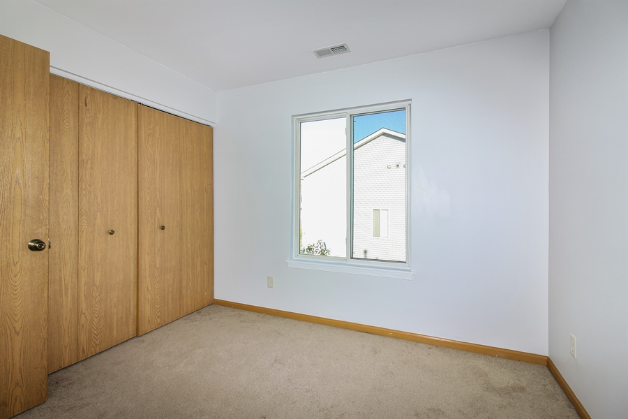 Real Estate Photography - 1755 Raleigh Trail, Unit 1755, Romeoville, IL, 60446 - Bedroom