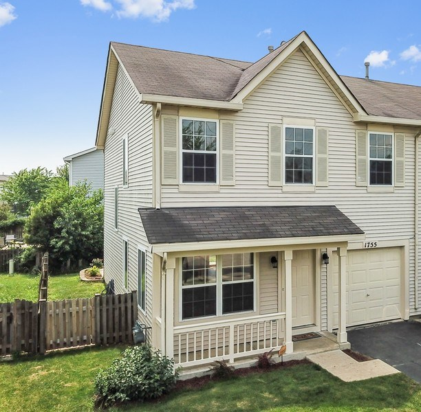 Real Estate Photography - 1755 Raleigh Trail, Unit 1755, Romeoville, IL, 60446 -