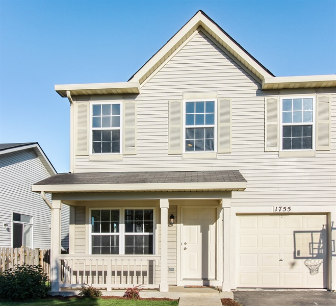 Real Estate Photography - 1755 Raleigh Trail, Unit 1755, Romeoville, IL, 60446 - Front View
