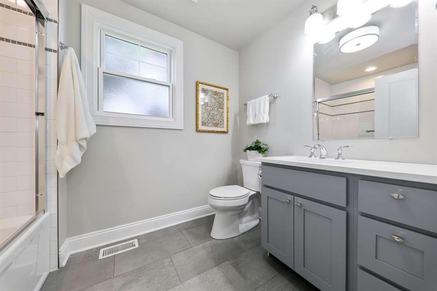 Real Estate Photography - 842 Marengo Avenue, Forest Park, IL, 60130 - 3rd Bathroom