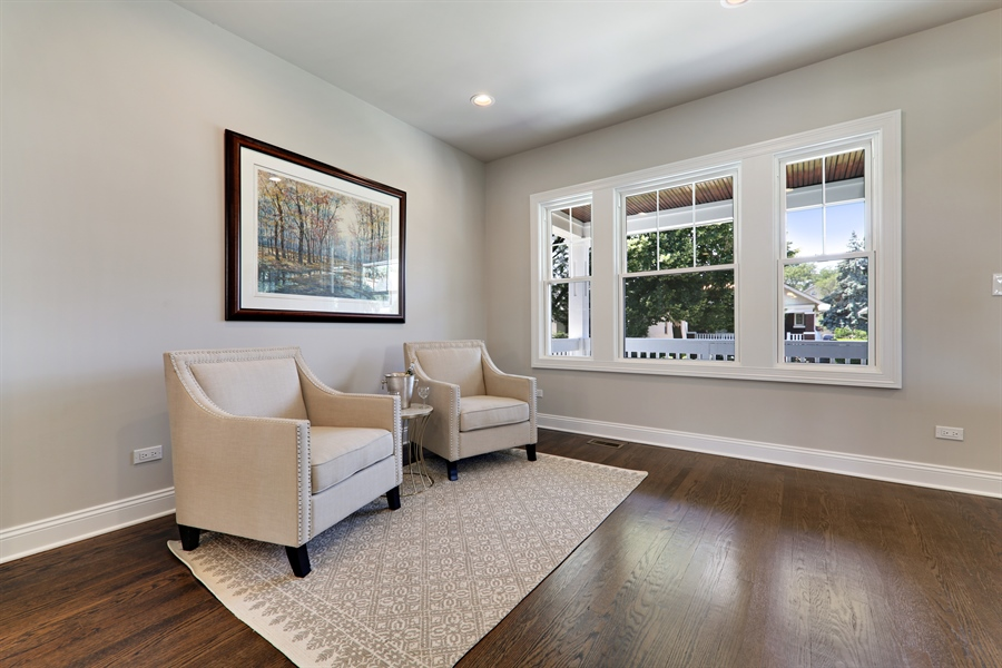 Real Estate Photography - 842 Marengo Avenue, Forest Park, IL, 60130 - Living Room