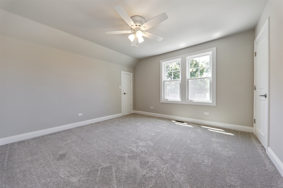 Real Estate Photography - 842 Marengo Avenue, Forest Park, IL, 60130 - 2nd Bedroom