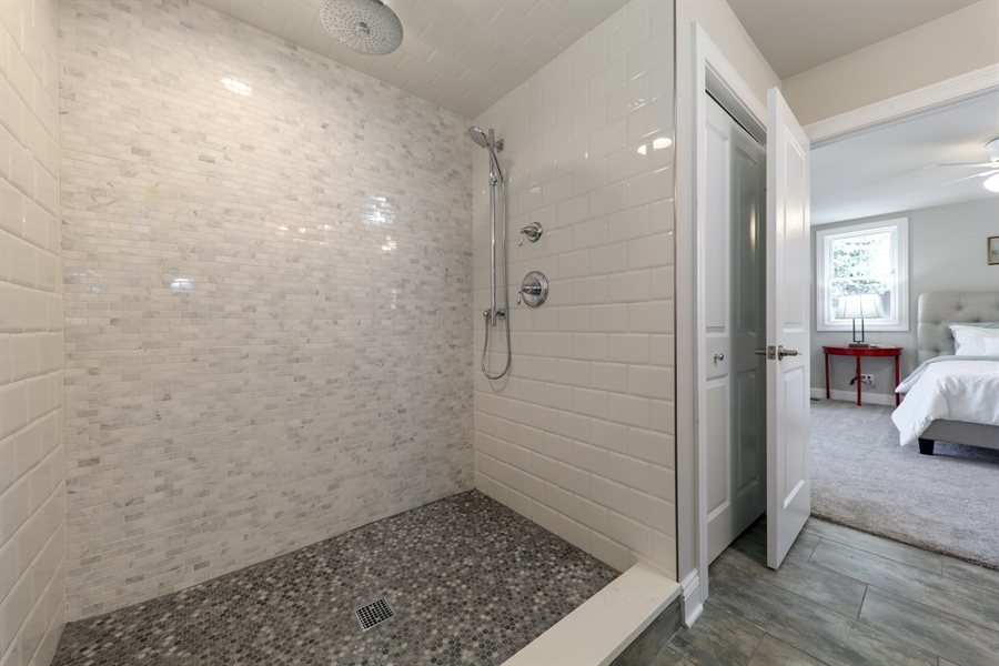 Real Estate Photography - 842 Marengo Avenue, Forest Park, IL, 60130 - Master Bathroom