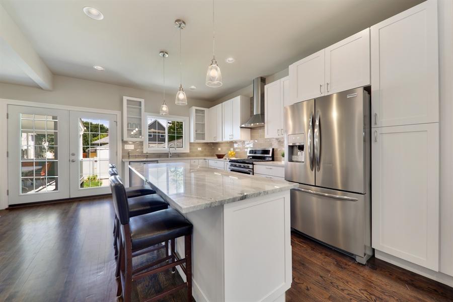 Real Estate Photography - 842 Marengo Avenue, Forest Park, IL, 60130 - Kitchen