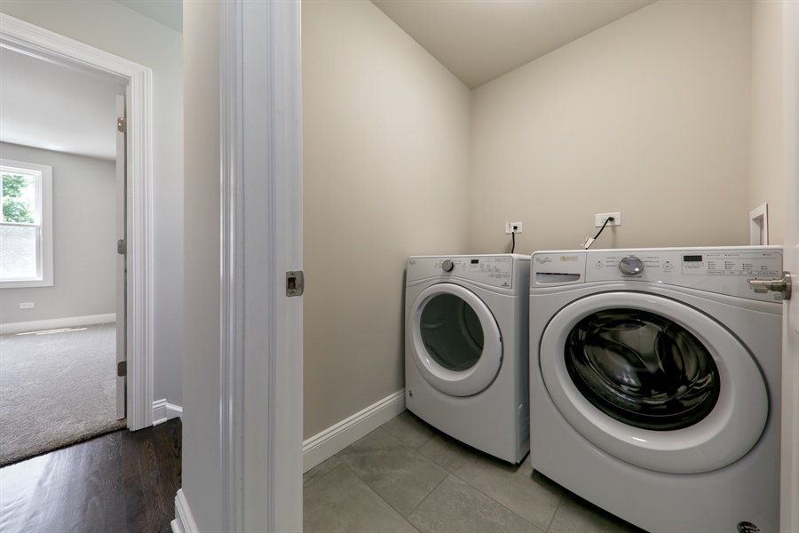 Real Estate Photography - 842 Marengo Avenue, Forest Park, IL, 60130 - Laundry Room