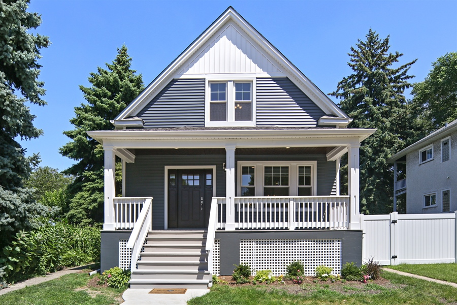 Real Estate Photography - 842 Marengo Avenue, Forest Park, IL, 60130 - Front View