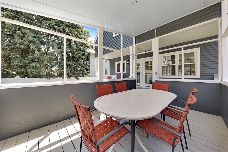 Real Estate Photography - 842 Marengo Avenue, Forest Park, IL, 60130 - Deck