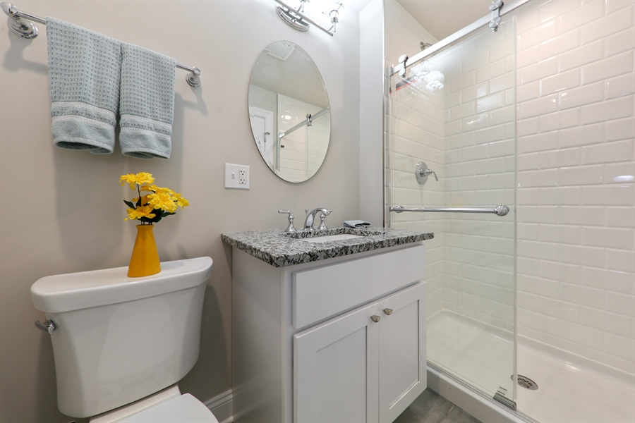 Real Estate Photography - 842 Marengo Avenue, Forest Park, IL, 60130 - Bathroom