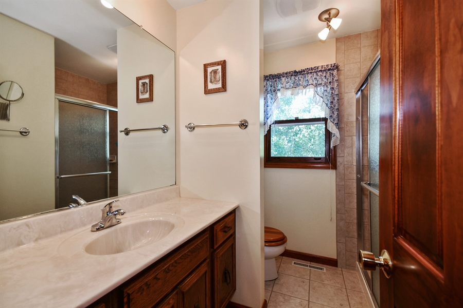 Real Estate Photography - S831 Skyline Drive, Batavia, IL, 60510 - Master Bathroom