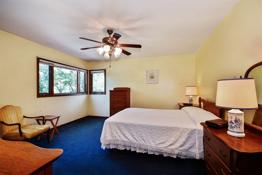 Real Estate Photography - S831 Skyline Drive, Batavia, IL, 60510 - Master Bedroom