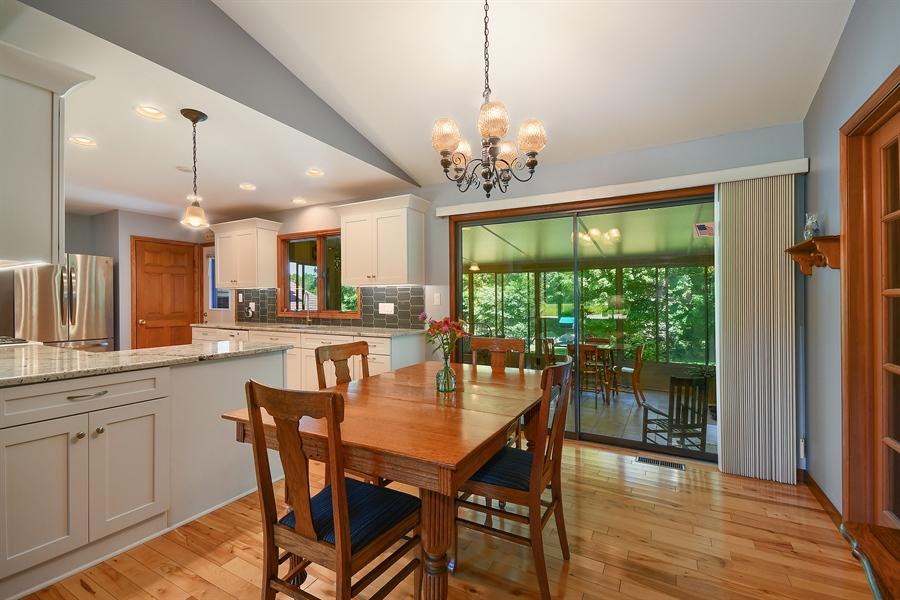 Real Estate Photography - S831 Skyline Drive, Batavia, IL, 60510 - Kitchen / Breakfast Room