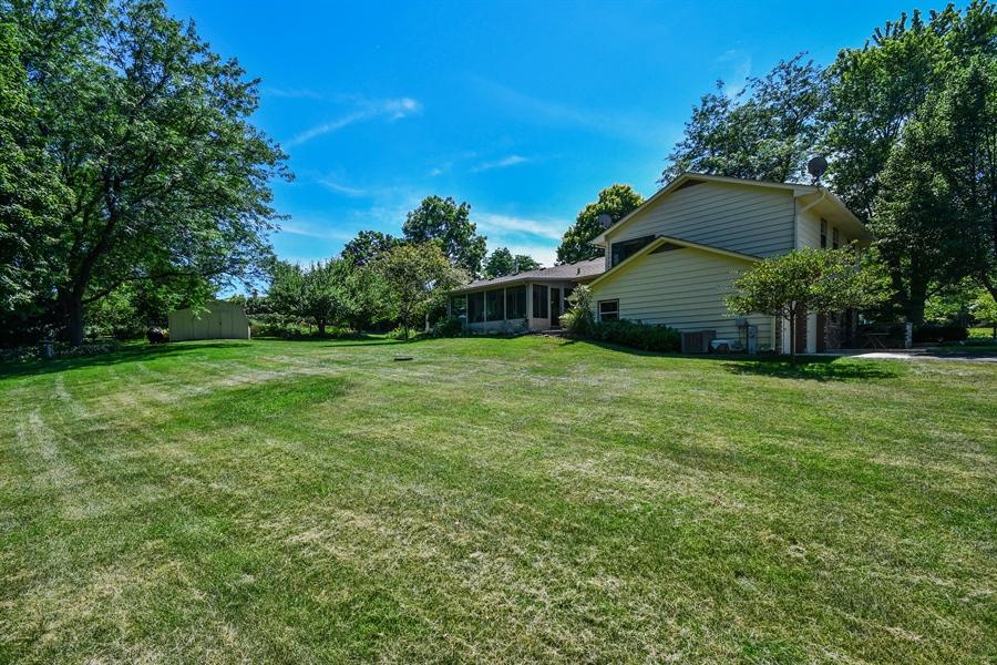 Real Estate Photography - S831 Skyline Drive, Batavia, IL, 60510 - Back Yard