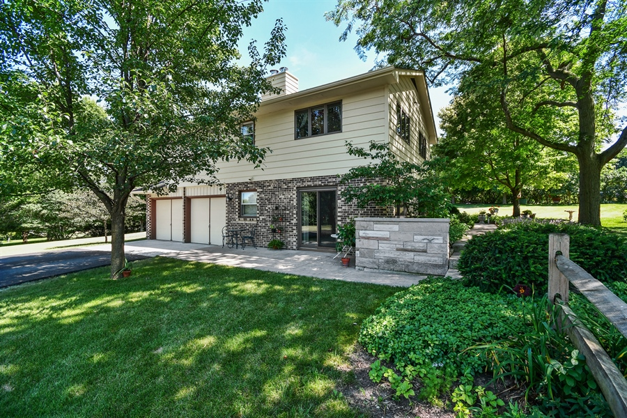 Real Estate Photography - S831 Skyline Drive, Batavia, IL, 60510 - Side Yard