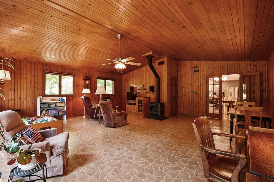 Real Estate Photography - S831 Skyline Drive, Batavia, IL, 60510 - Family Room
