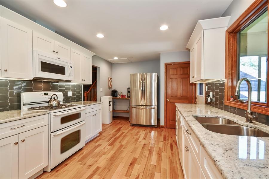 Real Estate Photography - S831 Skyline Drive, Batavia, IL, 60510 - Kitchen