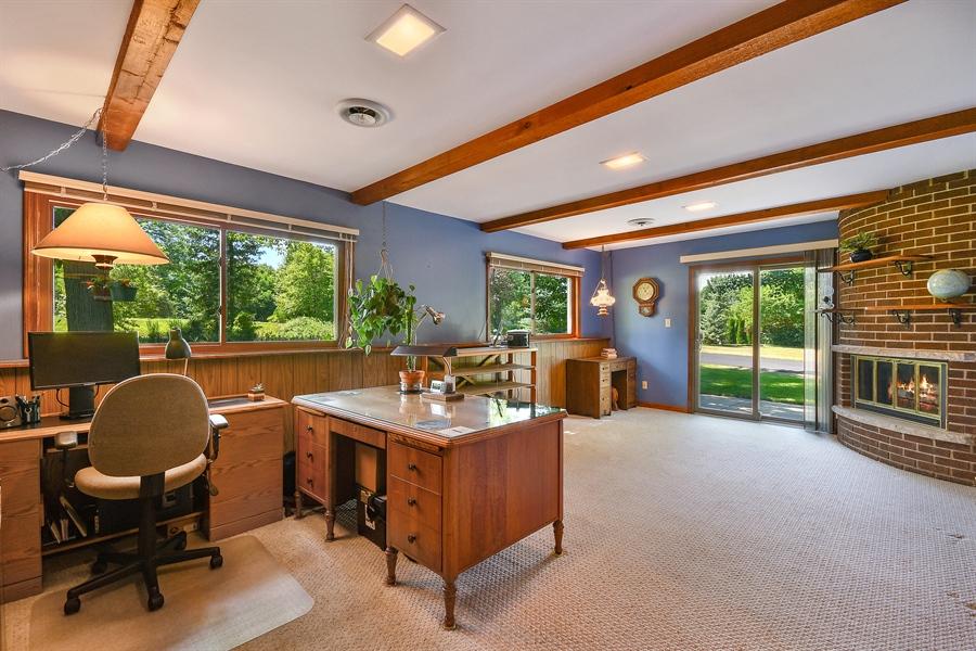 Real Estate Photography - S831 Skyline Drive, Batavia, IL, 60510 - Den