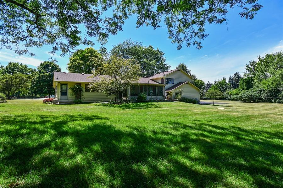 Real Estate Photography - S831 Skyline Drive, Batavia, IL, 60510 - Rear View