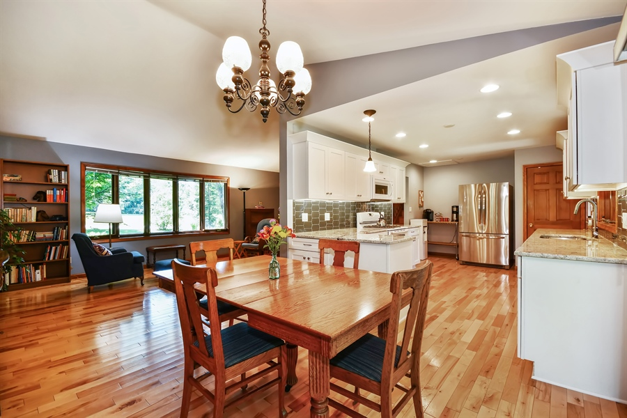 Real Estate Photography - S831 Skyline Drive, Batavia, IL, 60510 - Breakfast Nook