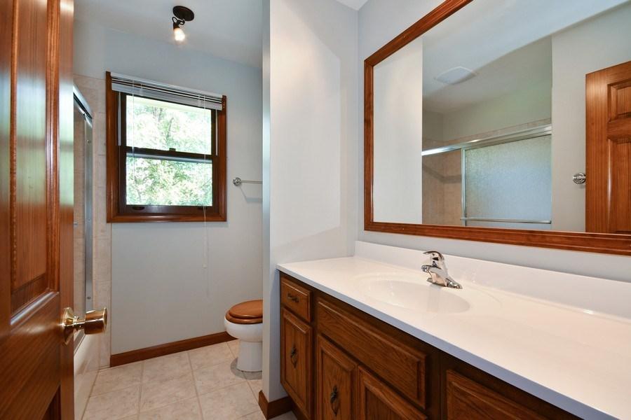 Real Estate Photography - S831 Skyline Drive, Batavia, IL, 60510 - 2nd Bathroom