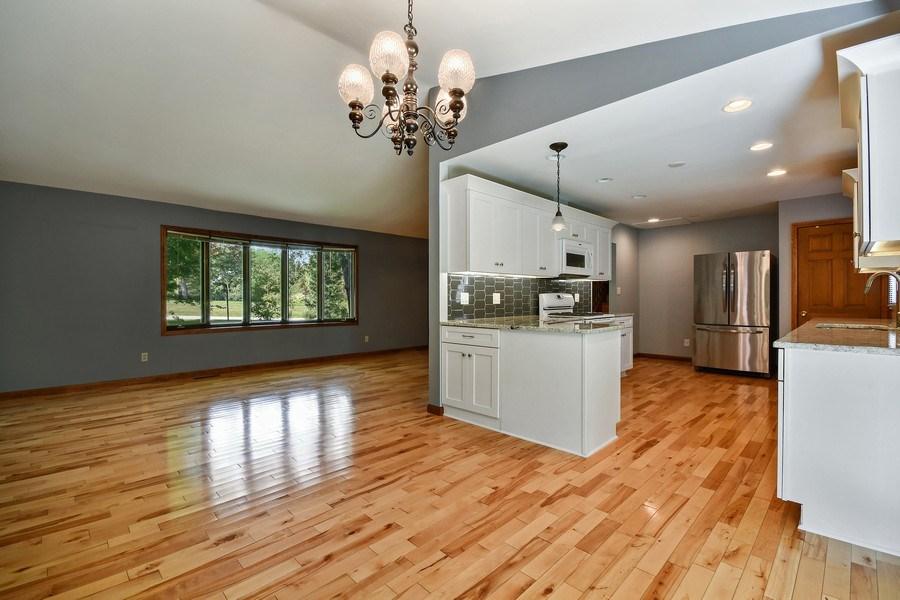 Real Estate Photography - S831 Skyline Drive, Batavia, IL, 60510 - Kitchen/Living