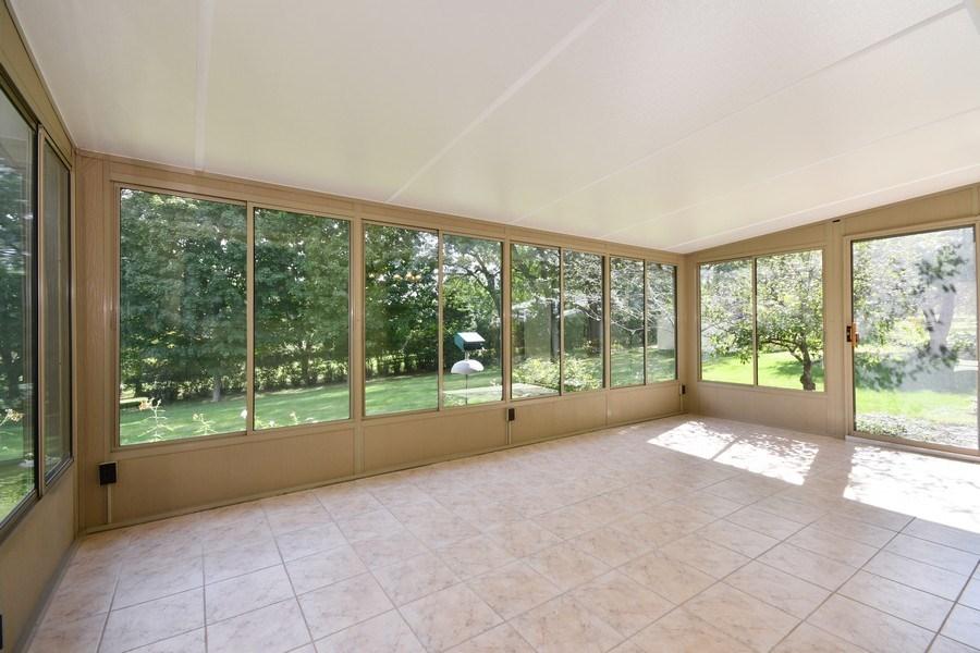 Real Estate Photography - S831 Skyline Drive, Batavia, IL, 60510 - Sun Room