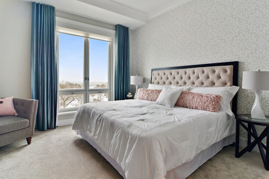 Real Estate Photography - 2550 N. Lakeview Avenue, Chicago, IL, 60614 - Master Bedroom