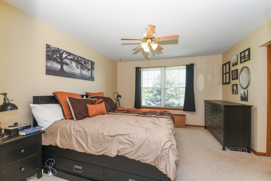 Real Estate Photography - 1690 Pebble Beach Circle, Elgin, IL, 60123 - Master Bedroom