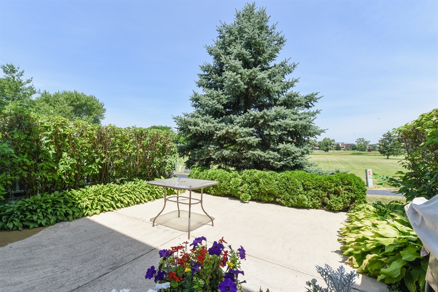 Real Estate Photography - 1690 Pebble Beach Circle, Elgin, IL, 60123 - Patio