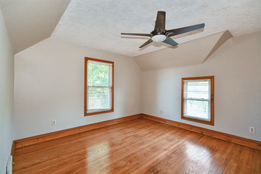 Real Estate Photography - 128 Richards Street, Geneva, IL, 60134 - Master with walk-in closet & door to lux bath
