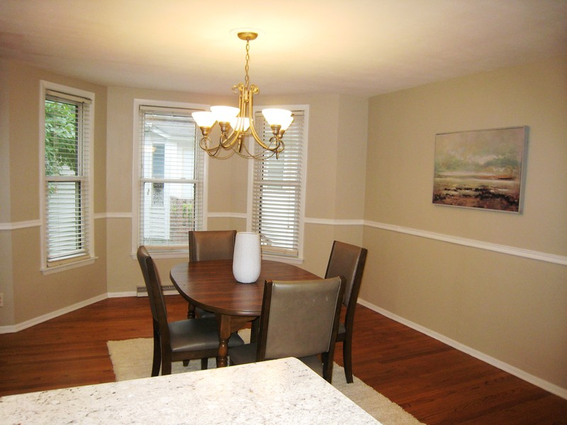 Real Estate Photography - 128 Richards Street, Geneva, IL, 60134 - Dining Room w bay off Kitchen
