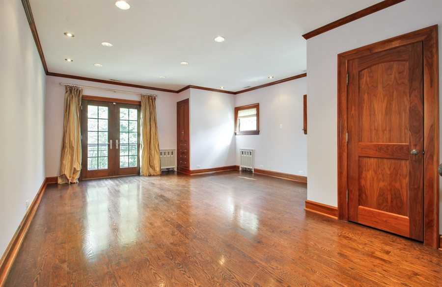Real Estate Photography - 5900 N. Kilpatrick Avenue, Chicago, IL, 60646 - Master Bedroom
