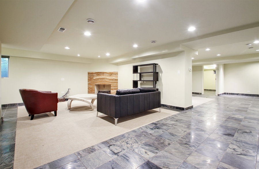 Real Estate Photography - 5900 N. Kilpatrick Avenue, Chicago, IL, 60646 - Lower Level
