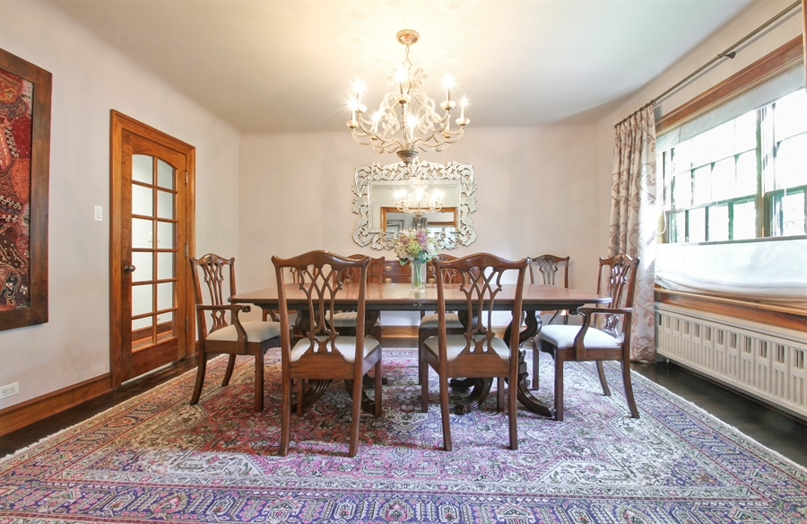 Real Estate Photography - 5900 N. Kilpatrick Avenue, Chicago, IL, 60646 - Dining Room