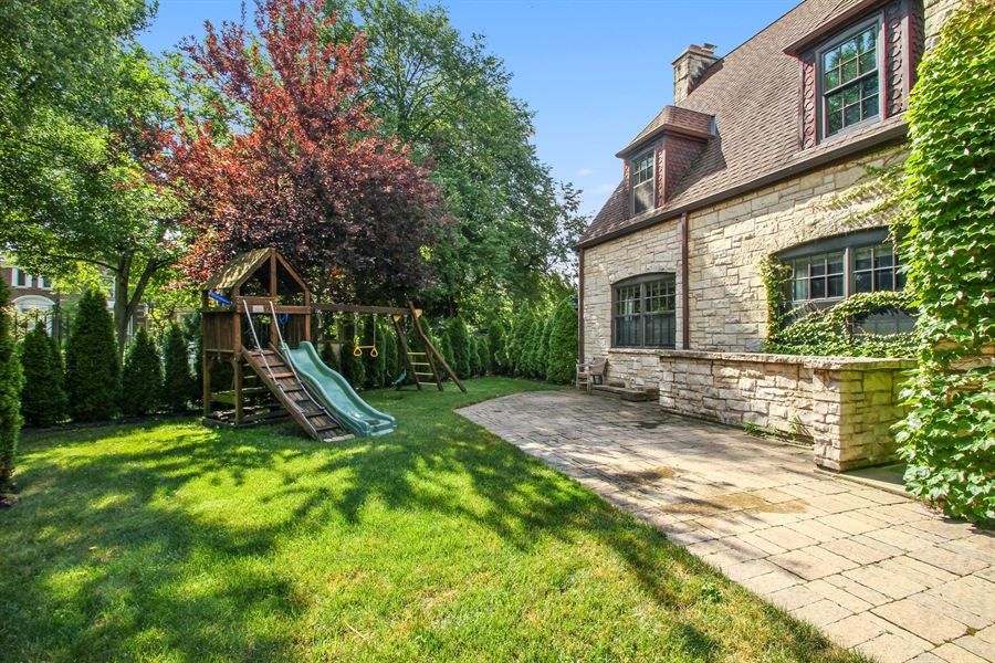 Real Estate Photography - 5900 N. Kilpatrick Avenue, Chicago, IL, 60646 - Back Yard