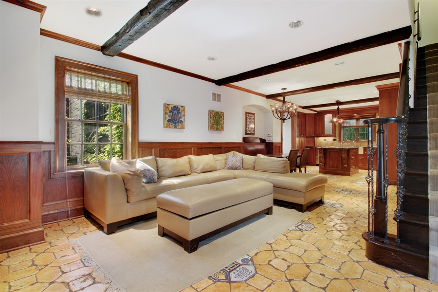 Real Estate Photography - 5900 N. Kilpatrick Avenue, Chicago, IL, 60646 - Family Room