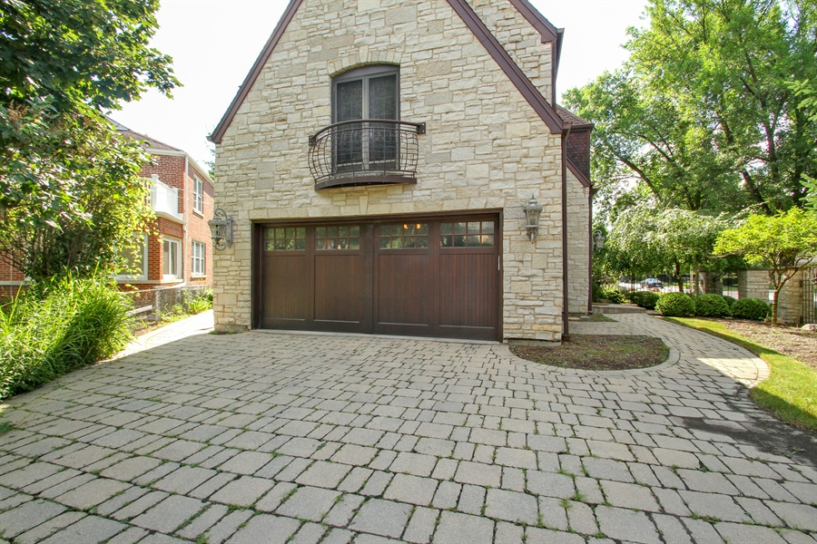 Real Estate Photography - 5900 N. Kilpatrick Avenue, Chicago, IL, 60646 - Rear View