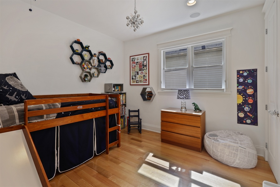 Real Estate Photography - 1532 W. WOLFRAM Street, Chicago, IL, 60657 - 3rd Bedroom