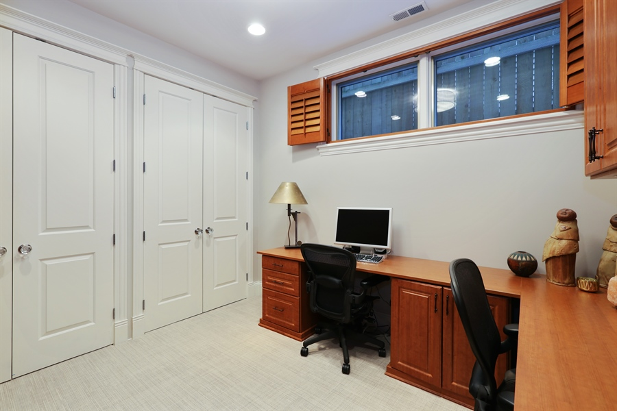 Real Estate Photography - 1532 W. WOLFRAM Street, Chicago, IL, 60657 - 5th Bedroom / Office